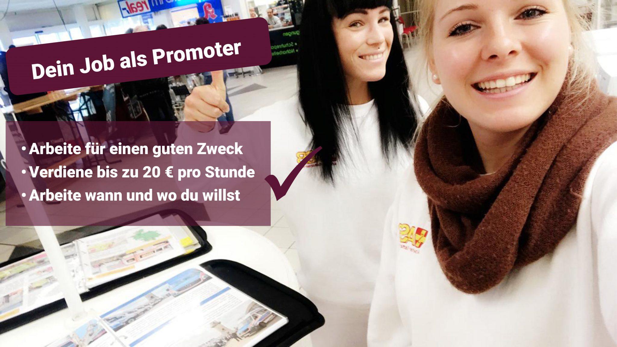 Promomotion Job KiP Agentur für Marketing und Promotion ASB